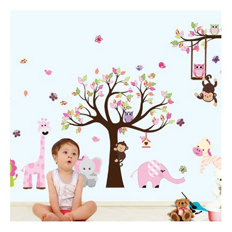 Sticker murale arbre