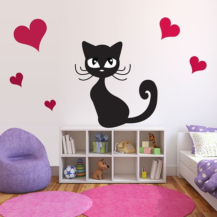 Stickers deco chambre bebe maison design for Stickers placard chambre