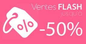 Vente flash stickers muraux jusqu'à -50%